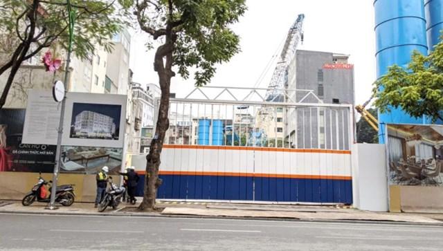 Dự án D' San Raffles được khởi công vào tháng 2/2021. Ảnh: Vietnambiz