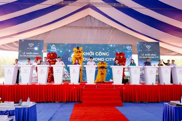 Lễ khởi công Dự án Diamond City Lộc Ninh vào tháng 3 vừa qua