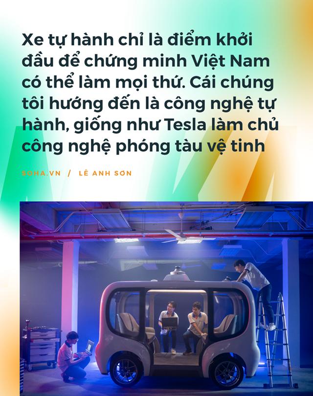 Chiếc xe tự lái Made in Vietnam đầu tiên: Sự điên rồ của những người không muốn sống một đời nhàm chán - Ảnh 6
