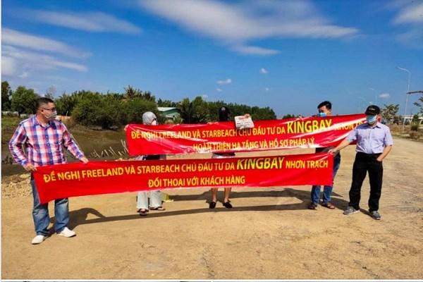Công ty Free Land và Star Beach bị nhiều nhà đầu tư tố lừa đảo tại dự án King Bay