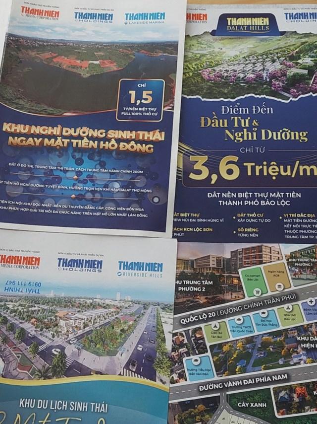 Hàng loạt dự án ma của Thanh Niên Holdings bán tại Bảo Lộc, Bảo Lâm
