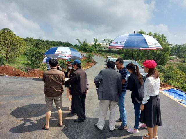 Dự án Mê Linh Garden Hill, xã Mê Linh do Công ty cổ phần Maicon Việt Nam bị cơ quan chức năng kiểm tra.