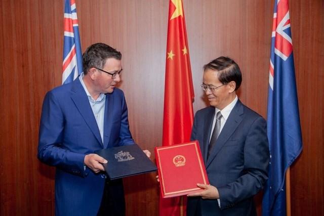 Trung Quốc đình chỉ vô thời hạn đối thoại kinh tế cấp cao với Australia (Ảnh minh họa: SCMP).