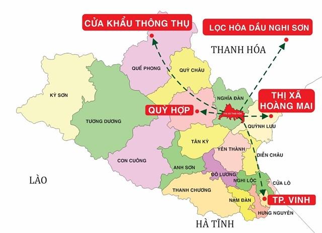 Cơ sở hạ tầng đồng bộ tạo thế và lực cho thị xã Thái Hòa giai đoạn 2021-2026 - Ảnh 1