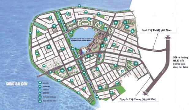 Phổi cảnh tổng thể dự án Vạn Phúc City
