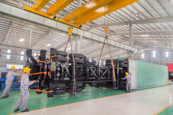 Thaco đẩy mạnh xuất khẩu sơmi rơmoóc sang thị trường Mỹ - Ảnh 1