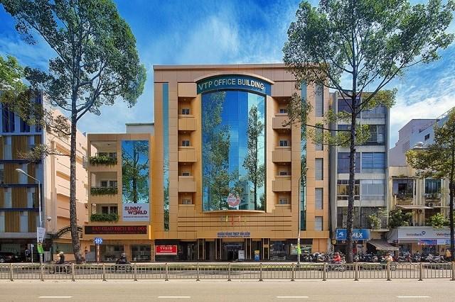 Tòa nhà văn phòng Vạn Thịnh Phát trên đường Trần Hưng Đạo. Ảnh: VTP