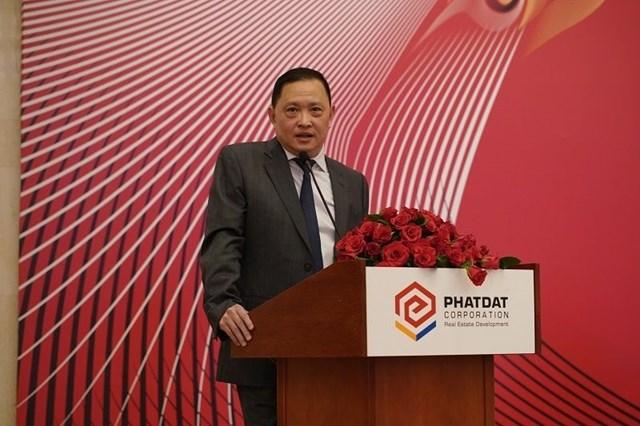 Ông Nguyễn Văn Đạt - Chủ tịch Hội đồng quản trị Công ty Cổ phần Phát triển Bất động sản Phát Đạt