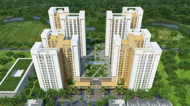 Phối cảnh dự án một khu dân cư của Công ty địa ốc Khang An và Vạn Hưng Phát hợp tác đầu tư ở quận Bình Tân - (Ảnh: Khangan.com)