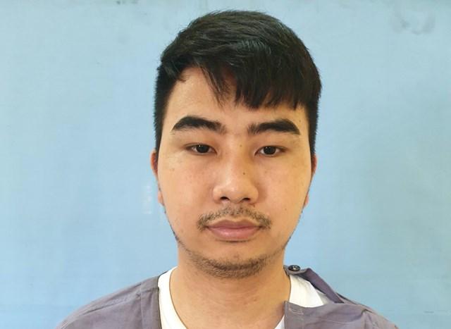 Bị can Nguyễn Thế Dương - người giữ vai trò quản lý, điều hành hoạt động của sàn Hitoption.net - Ảnh: Công an Hải Phòng