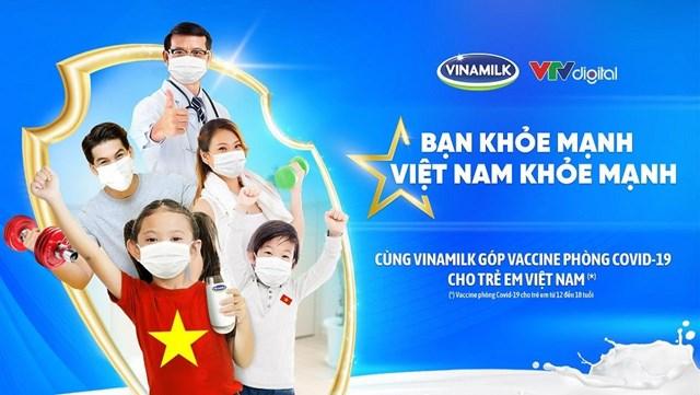 """Vinamilk khởi động Chiến dịch cộng đồng """"Bạn khỏe mạnh, Việt Nam khỏe mạnh"""""""