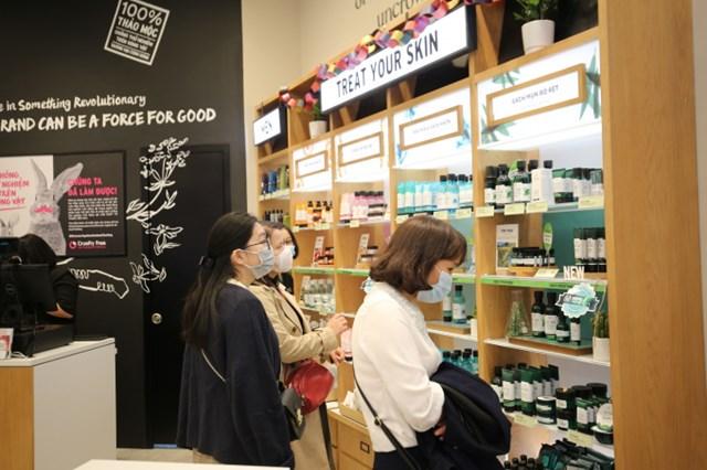 Thương hiệu The Face Shop xuất hiện tại Vincom Mega Mall Ocean Park.