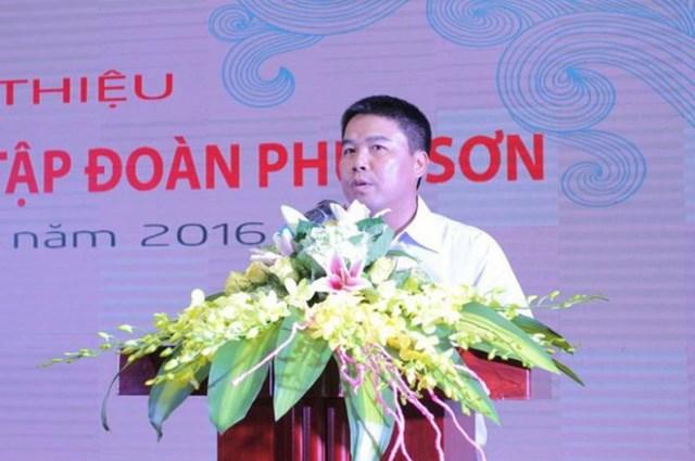 Ông Nguyễn Văn Hậu - Chủ tịch Hội đồng quản trị, kiêm người đại diện theo pháp luật của Tập đoàn Phúc Sơn.