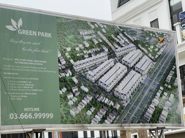 Phối cảnh dự án Green Park Hải Hà.