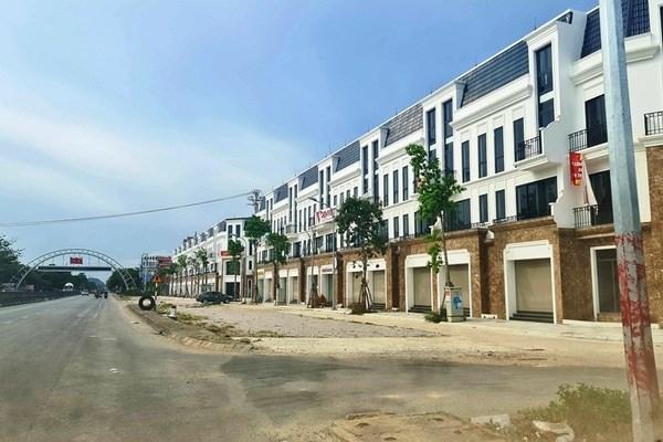 Dự án nằm sát Quốc lộ 1 A ở vị trí cửa ngõ phía Nam thành phố Thanh Hóa.