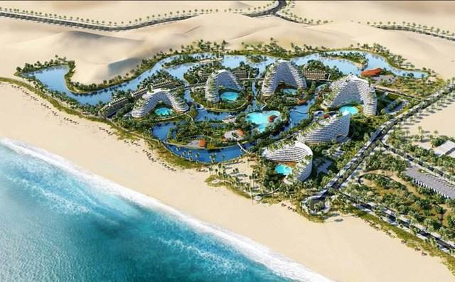 Siêu dự án Mũi Dinh Ecopark có quy mô lên đến 800ha.