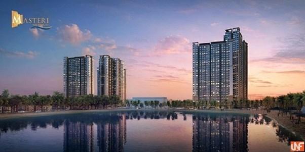 """Phối cảnh dự án Masteri Waterfront Gia Lâm, Hà Nội – một trong 3 dự án áp dụng chương trình """"Đổi nhà 0 đồng"""" của Masterise Homes"""