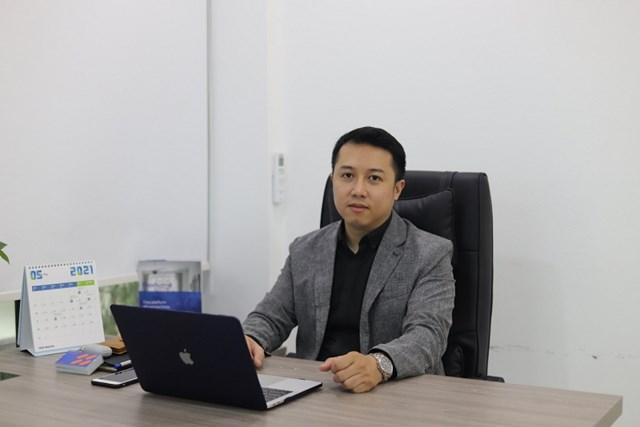 Anh Trần Quốc Huy - Giám đốc Công ty Cổ phần giải pháp nội thất Flexhome.