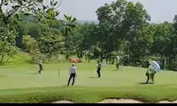 Cần xử lý nghiêm hành vi vi phạm quy định phòng, chống dịch của sân golf Sky Lake.