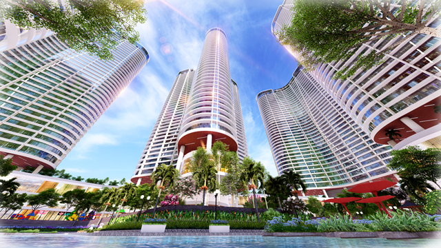 """Sunshine Diamond River - một trong số các dự án tại TP. HCM của Sunshine Group, ghi dấu ấn tại thị trường phương Nam như một """"Resort 4.0 bên sông Sài Gòn"""""""
