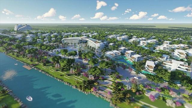 """Sunshine Heritage - Chuỗi đại đô thị nghỉ dưỡng gắn với trải nghiệm văn hoá, bảo tồn và tôn vinh di sản với các dự án Sunshine Heritage tại Hà Nội, Phan Thiết, Đà Nẵng… với dự án điển hình là Sunshine Heritage Hà Nội - """"thành phố nghỉ dưỡng"""" và trải nghiệm văn hoá, bảo tồn di sản duy nhất tại Hà Nội có đường bao thuỷ dài đến 11km"""