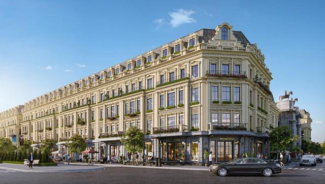 Sunshine Capital - Tổ hợp dự án mang hơi thở của kiến trúc châu Âu vương giả và cùng hệ thống các biệt thự và nhà phố thương mại, shophouse tại các dự án Sunshine Capital Hà Nội (Ciputra, Tây Thăng Long), Sunshine Capital Thanh Hoá...