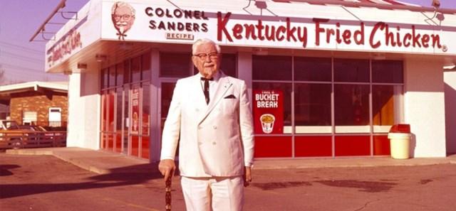 """Một """"đế chế"""" KFC sẽ không tồn tại nếu Harland Sanders ngừng cố gắng."""