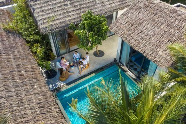 New World Phu Quoc Resort được thiết kế theo phong cách làng biển độc đáo.