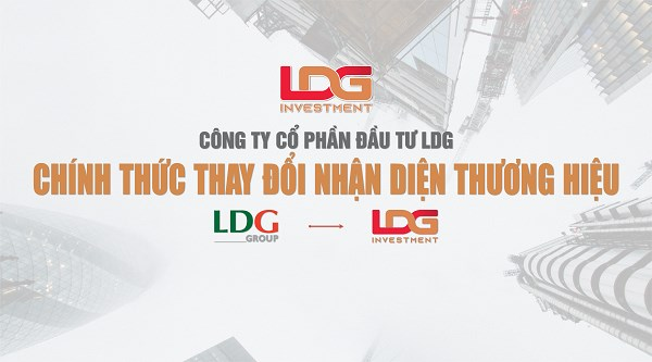 Liên tục nợ thuế, Công ty CP Đầu tư LDG thay đổi nhận diện thương hiệu