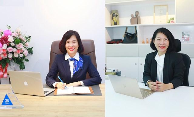 Bà Hoàng Thu Trang và bà Nguyễn Thị Thùy Dương được bổ nhiệm là Phó Tổng Giám đốc NCB