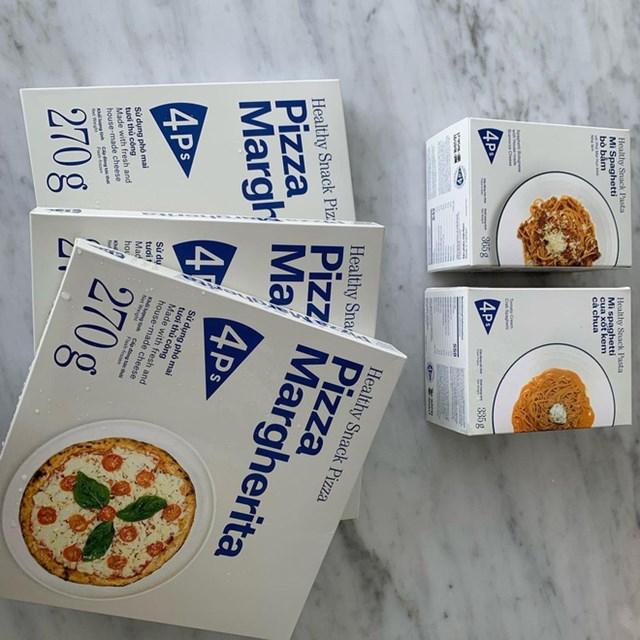 Các sản phẩm đông lạnh của Pizza 4P's