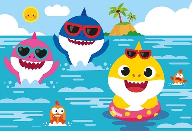 Những chú cá mập dễ thương góp phần tạo nên thành công cho Baby Shark
