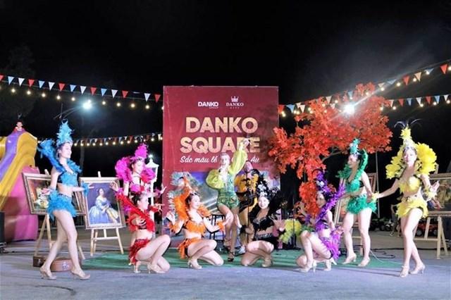 Sắc màu lễ hội Châu Âu tại KĐT Danko City.