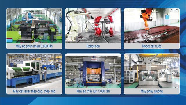 THACO AUTO đẩy mạnh sản xuất và cung ứng linh kiện phụ tùng, cơ khí giữa đại dịch COVID-19 - Ảnh 3