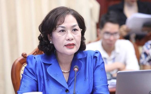 Thống đốc Nguyễn Thị Hồng: Sẽ tăng hạn mức tín dụng cho các ngân hàng - Ảnh 1