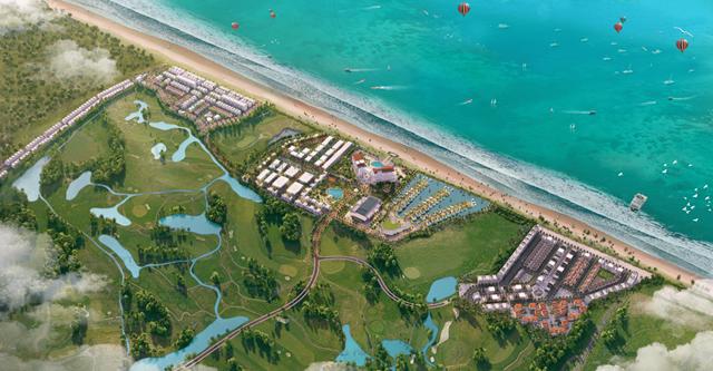 Dự án FLC Quảng Bình được quy hoạch trên quy mô gần 2000ha lớn bậc nhất miền Trung
