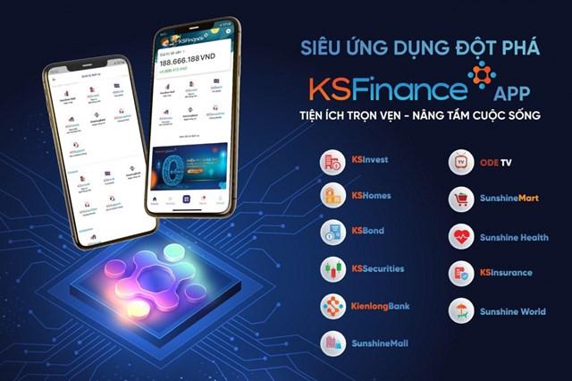 Siêu ứng dụng KSFinance mang đến một hệ sinh thái các sản phẩm và dịch vụ đa dạng, đáp ứng mọi nhu cầu cơ bản của khách hàng