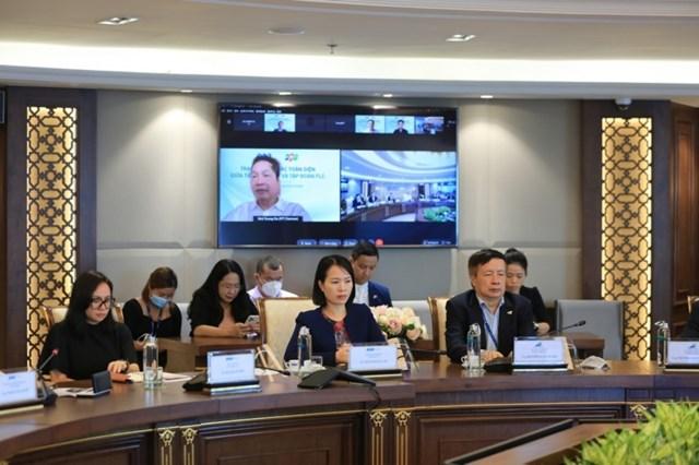 Lãnh đạo cấp cao FLC - FPT bàn cơ hội hợp tác - Ảnh 1