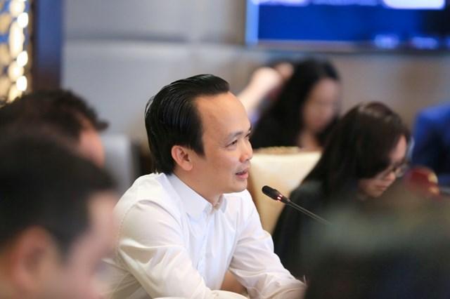 Lãnh đạo cấp cao FLC - FPT bàn cơ hội hợp tác - Ảnh 2