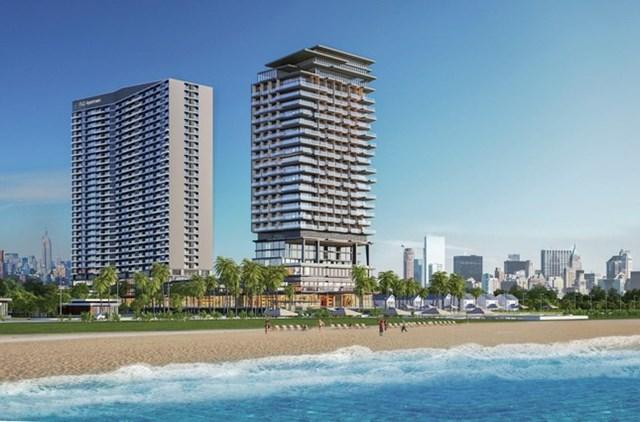 Khách sạn trong phố FLC City Hotel sở hữu vị trí đắc địa tại trung tâm những thành phố lớn