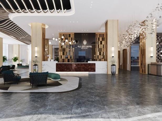 Khách sạn trong phố đầu tiên FLC City Hotel Beach Quy Nhơn với kiến trúc hiện đại, sang trọng