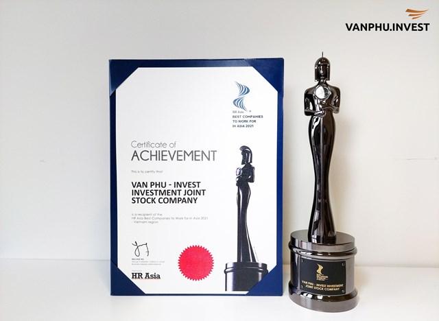 """Văn Phú - Invest được vinh danh giải thưởng """"Nơi làm việc tốt nhất châu Á"""" - Ảnh 1"""