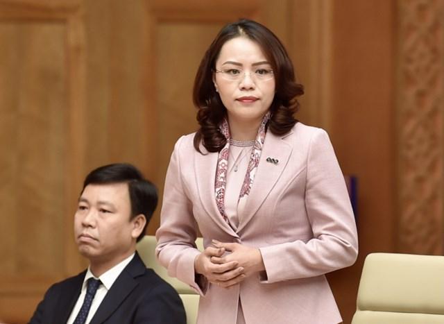 Bà Hương Trần Kiều Dung, Phó Chủ tịch thường trực HĐQT FLC, Phó Chủ tịch HĐQT hãng hàng không Bamboo Airways, Ủy viên Ban Thường vụ Hiệp hội Bất động sản Việt Nam.