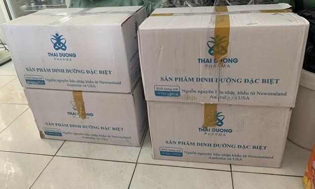 Số sản phẩm của công ty TNHH Dược phẩm Thái Dương bị tạm giữ