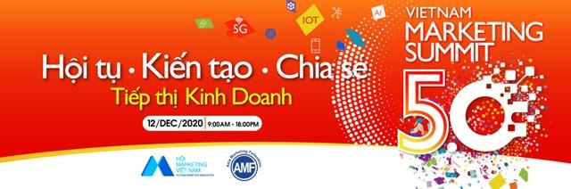 Vietnam Marketing Summit 5.0: 'Tái định hình' giá trị cơ bản vai trò marketing trong kinh doanh - Ảnh 1