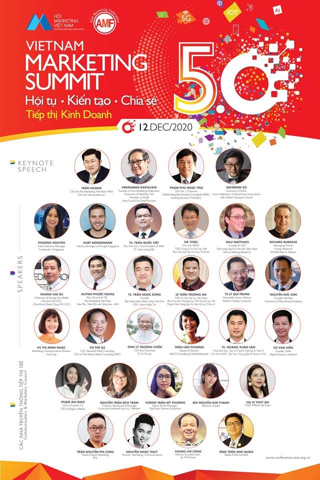 Vietnam Marketing Summit 5.0: 'Tái định hình' giá trị cơ bản vai trò marketing trong kinh doanh - Ảnh 2