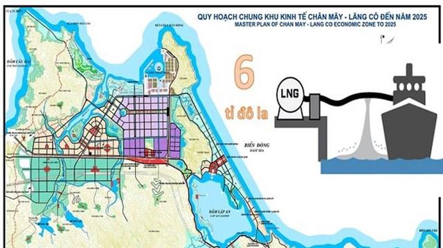 Phối cảnh dự án quy hoạch chung khu kinh tế Chân Mây - Lăng Cô.