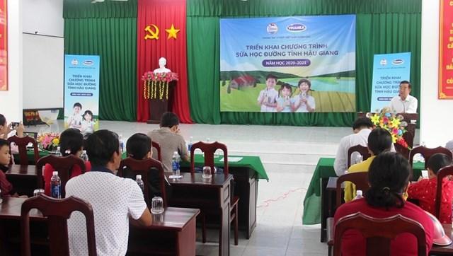 Chương trình Sữa học đường được tỉnh Hậu Giang mở rộng phạm vi thí điểm - Ảnh 1