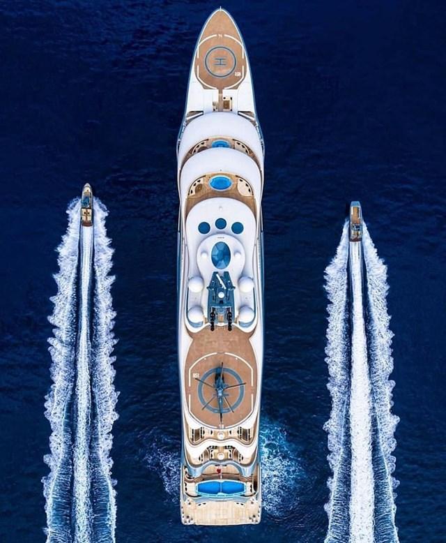 Đây là du thuyền đắt bậc nhất thế giới...