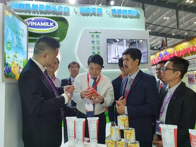Sản phẩm của Vinamilk tạo được ấn tượng tốt với các đối tác phân phối tại Trung Quốc khi ra mắt hồi tháng 09/2019